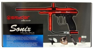 Spyder Sonix value pack red - silver